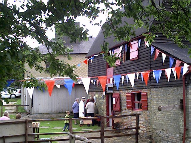 Ford End Watermill--Queen's Jubilee day 2002